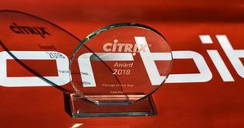 ORBIT je český Citrix partner za rok 2018