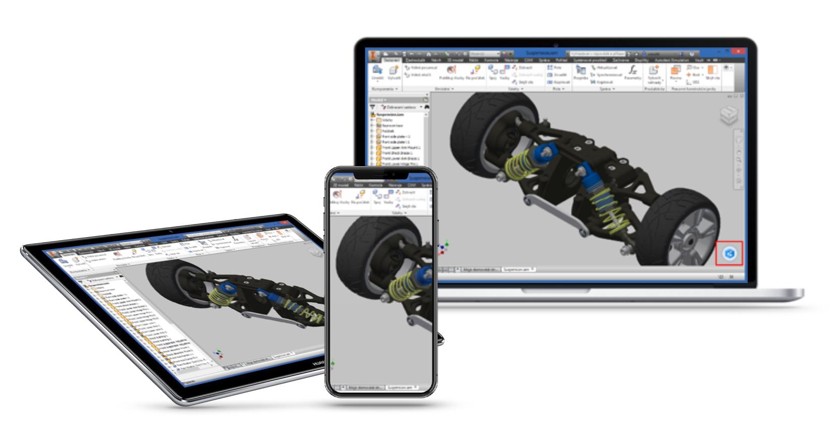 ORBIT 3D Workplace – workstation to go