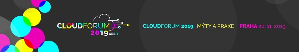 Cloud Fórum 2019 banner | ORBIT