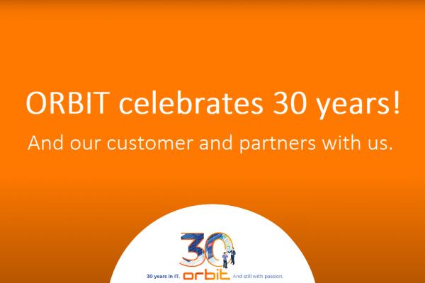 ORBIT celebrates 30 years | ORBIT