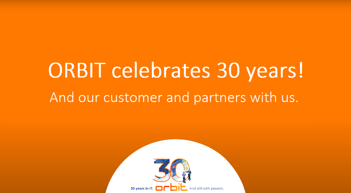 30 years of ORBIT: Wishes and congratulations from our customers and partners
